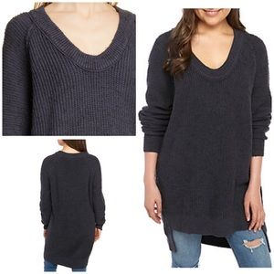 Free People Sunday V Neck Sweater